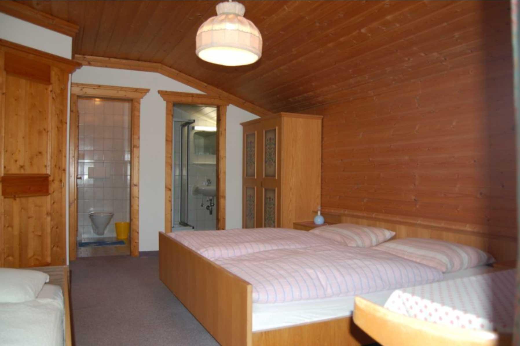 Doppelzimmer Ferienhaus