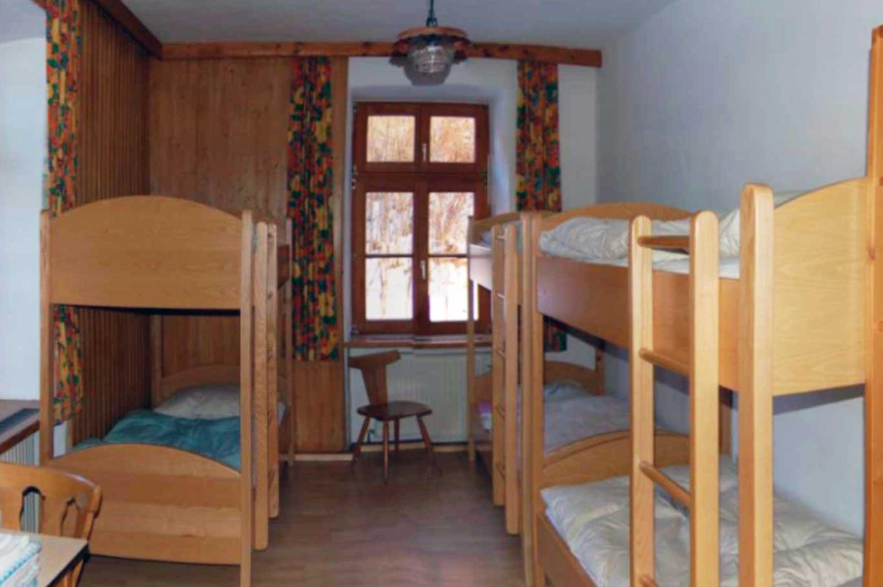 Mehrbettzimmer Ferienhaus Waldhof